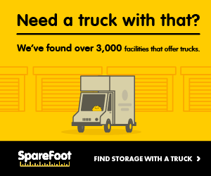 Self Storage with Truck Rental