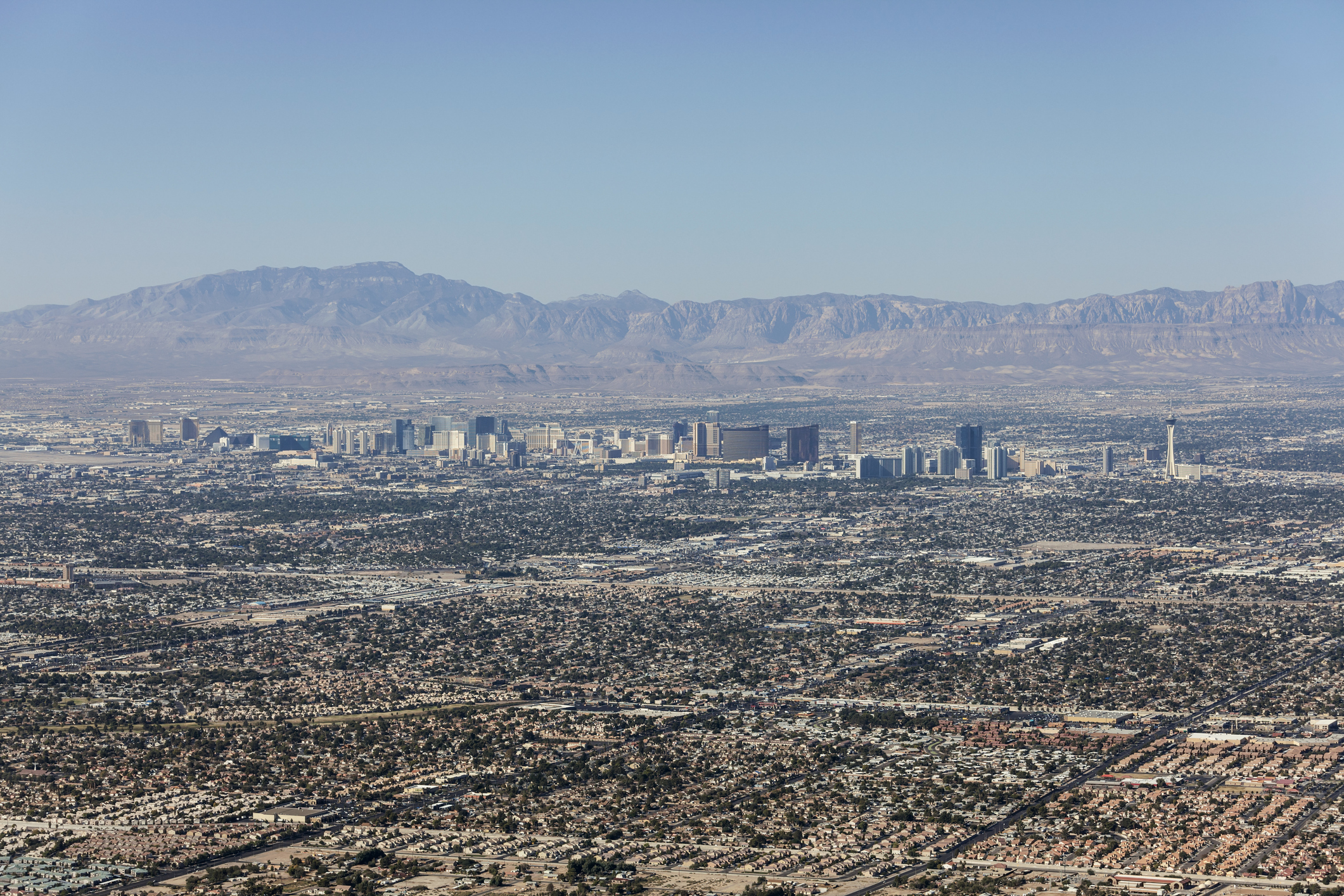 Las Vegas City Sprawl