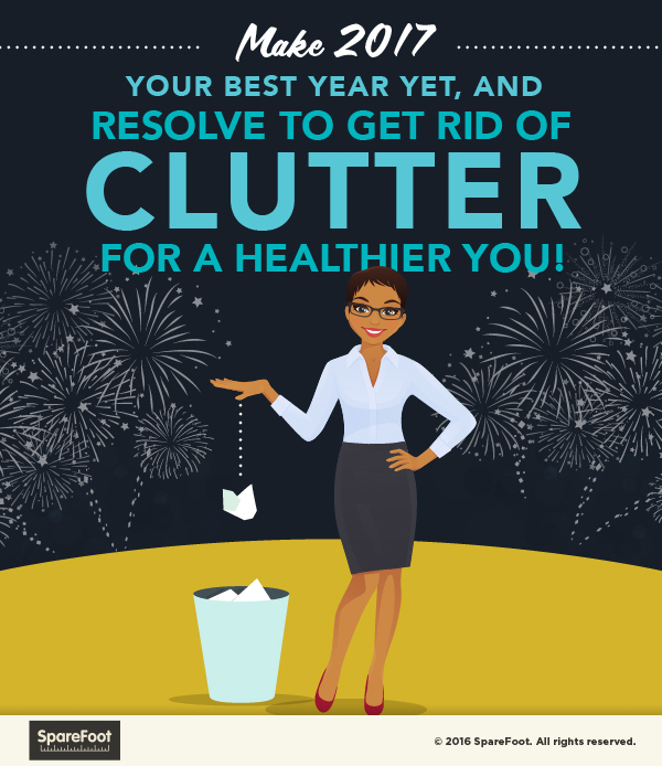 Declutter to lose weight is 2017 the year of the clutter for Ways to get rid of clutter