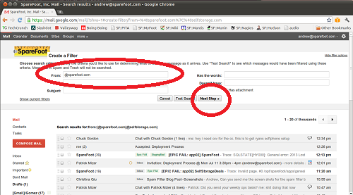 How to Set Your Spam Filter - GMail