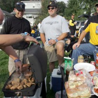 University of Iowa tailgating