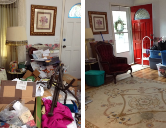 Before And After 4 Great Decluttering Success Stories