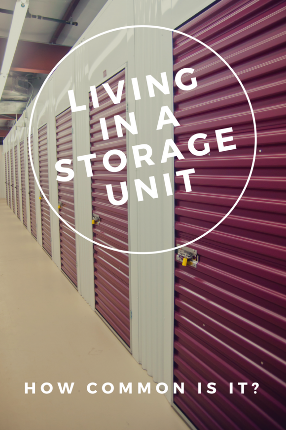 how common is living in a storage unit
