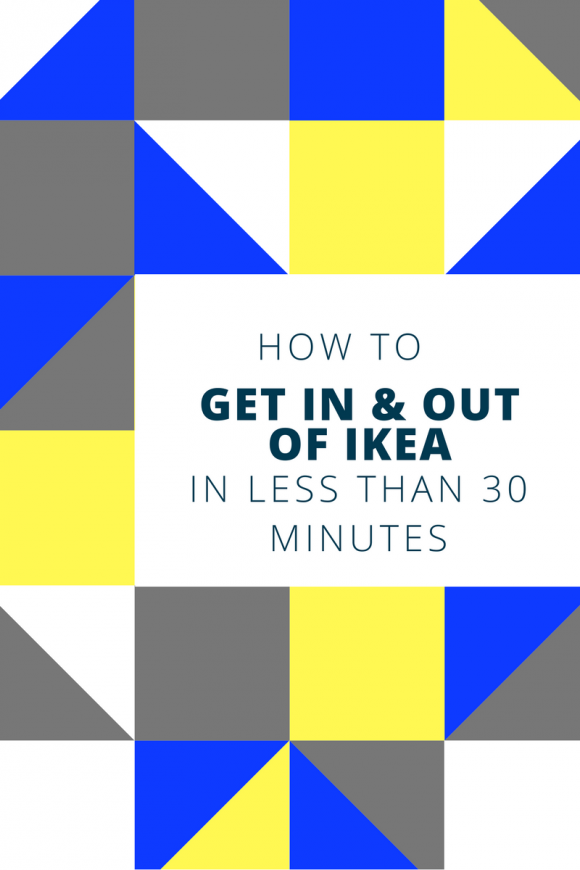how to get in and out of ikea