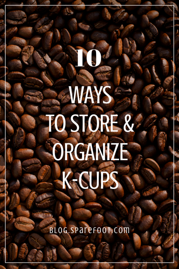10 ways to store and organize k-cups (1)