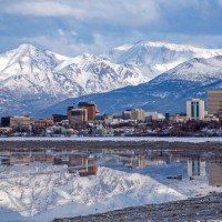 Anchorage, Alaska Skyline
