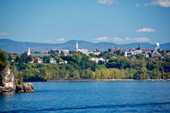 With a population of 40,000, Burlington is the largest city in the state of Vermont.