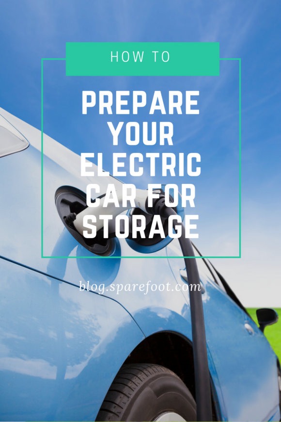 how to prepare your electric car for storage