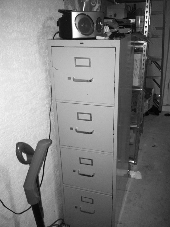Haunted File Cabinet