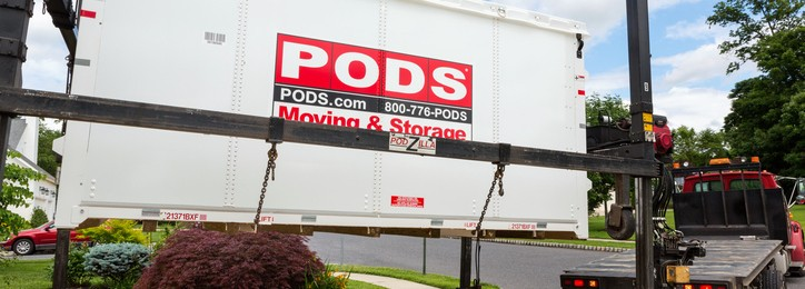 PODS on demand storage