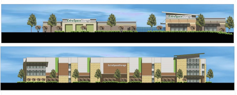 Renderings of Cornerstone RPC's first two development projects in Texas.
