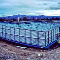 A facility under construction in Sparks, NV by John Bull Builders.