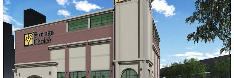 A rendering of the Storage Choice facility coming soon to the Farmers Market section of Dallas.