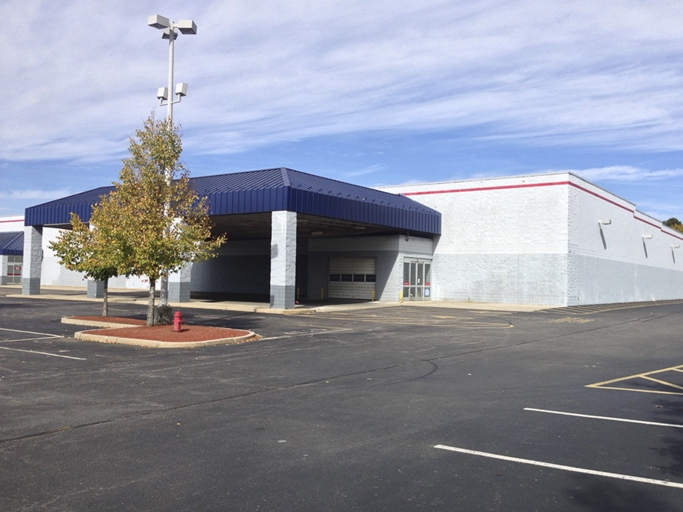 The owner of this vacant big-box store in Woonsocket, RI wants to convert it to self-storage.