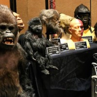 A sampling of Rick Baker creations sold at the Prop Store auction last year.