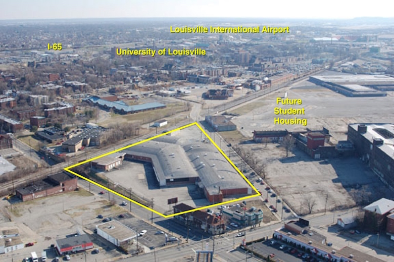A Nashville developer bought this site in Louisville, KY for $1.18 million.