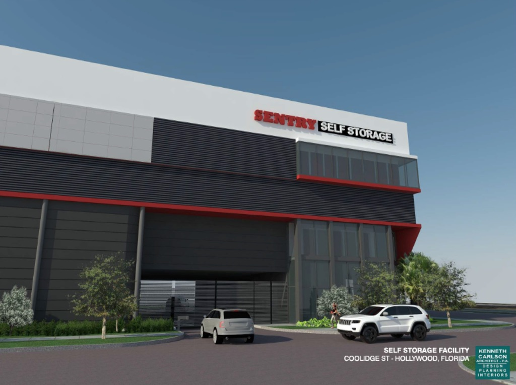 Sentry Self Storage Is Planning A Facility In Hollywood Fl