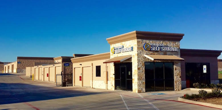 Amsdell's company opened this new facility in Mansfield, TX last December, a submarket of Dallas.