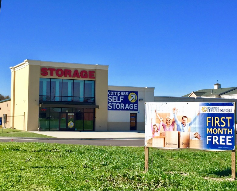 One of three facilities acquired by Compass Self Storage in Montgomery.