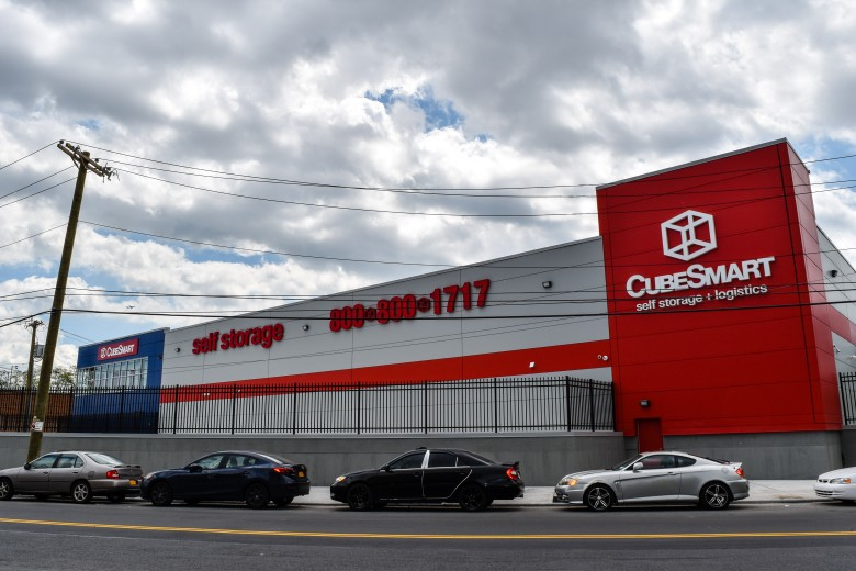 New CubeSmart managed facility in Brooklyn built by Pinnacle Commercial Development for Madison