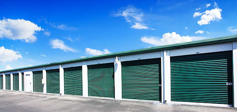 A former Acorn Mini Storage facility, recently purchased by Dahn Corporation