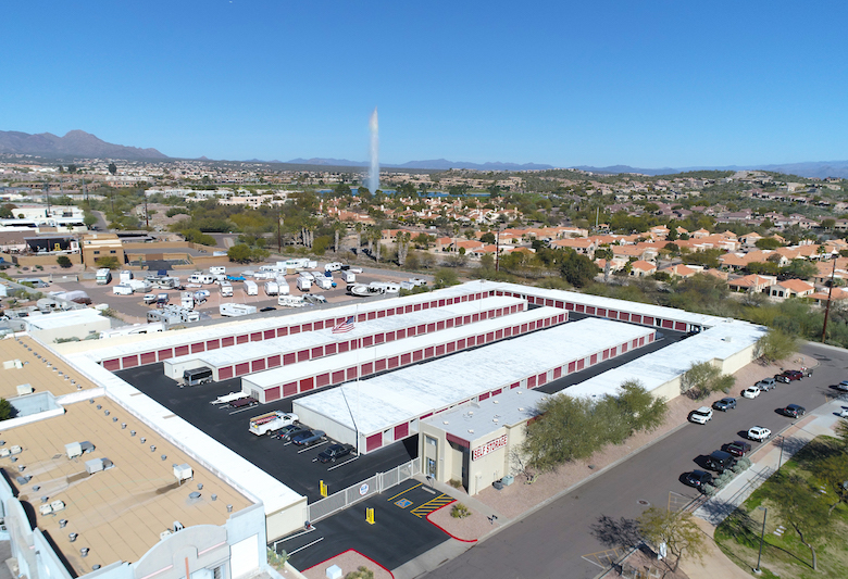 Southern Self Storage acquired this facility in Fountain Hills, AZ.