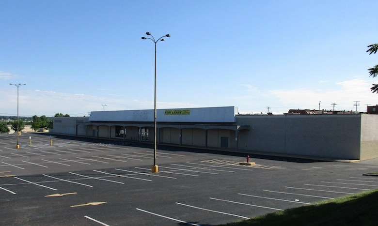 U-Haul is converting this former Kmart department store at the North Point Mall in Baltimore into storage.